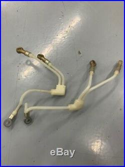 Suzuki T500, GT500, BOTH NOS injection oil lines, 16840-15033,16820-15033, Titan, NEW