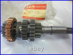 Suzuki TM100 TM125 RM125 nos countershaft assy 1973-1975 24120-28303
