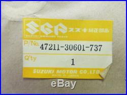 Suzuki TS250 Side Cover 1973-1976 NOS SAVAGE 250 Frame Panel 47211-30601-737
