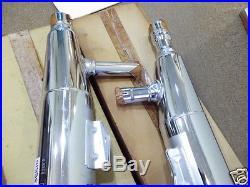 Suzuki VS1400 Exhaust Muffler L & R NOS INTRUDER 1400 PIPE BODY PAIR 14340-38B10