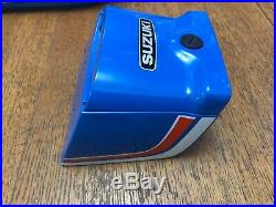 Suzuki gp100/125 petrol tank/side Covers And Tail Box Set NOS #2 Free Postage