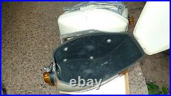 Vintage NOS SHOEI panniers / fairing set for Honda CB 750 / Suzuki GT 750